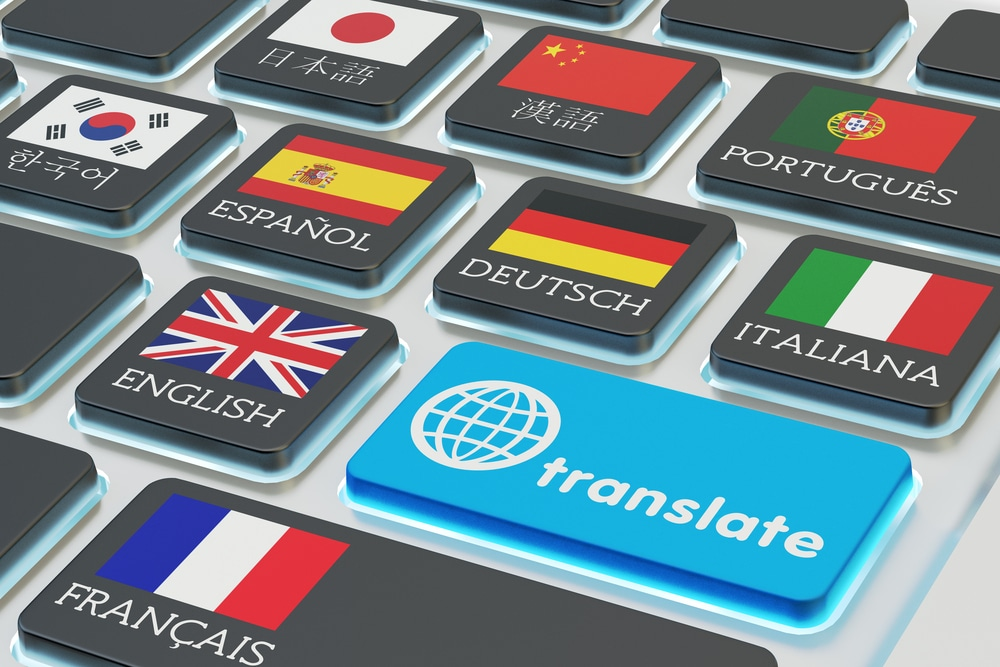 Webshop vertalen